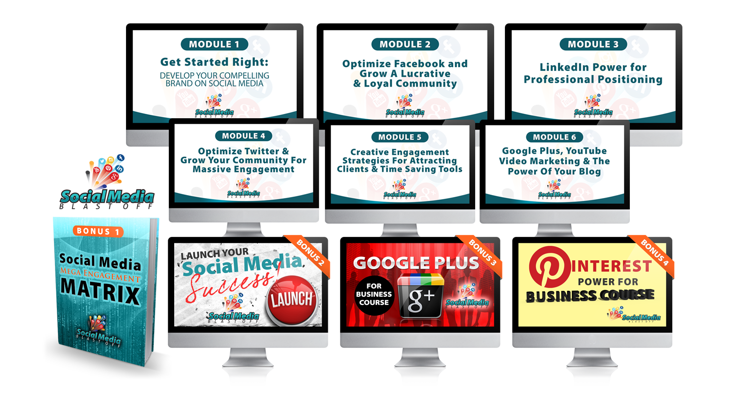 SOCIAL MEDIA BLASTOFF BUNDLE